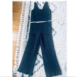 Madewell Wool Knit Jumpsuit XXS